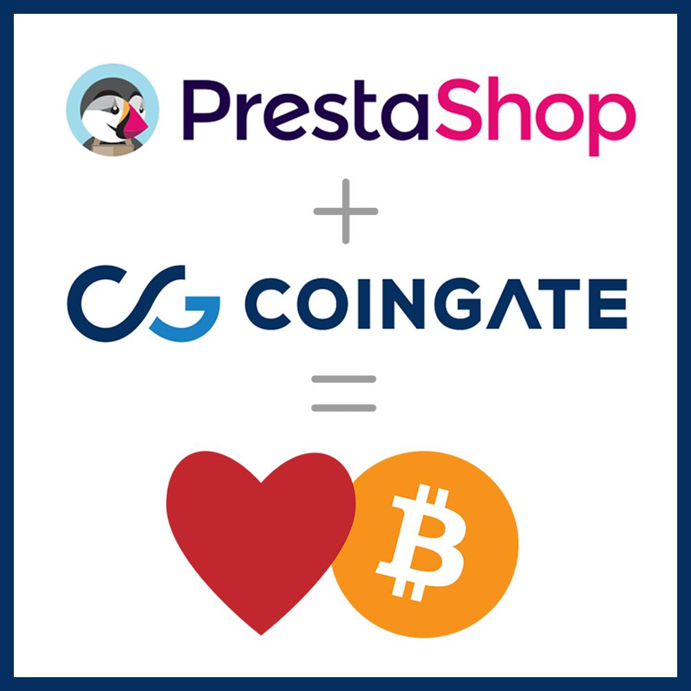 CoinGate PrestaShop Bitcoin module installation