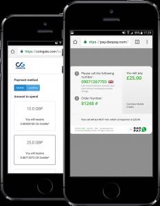Buy Bitcoin with Phone Bill