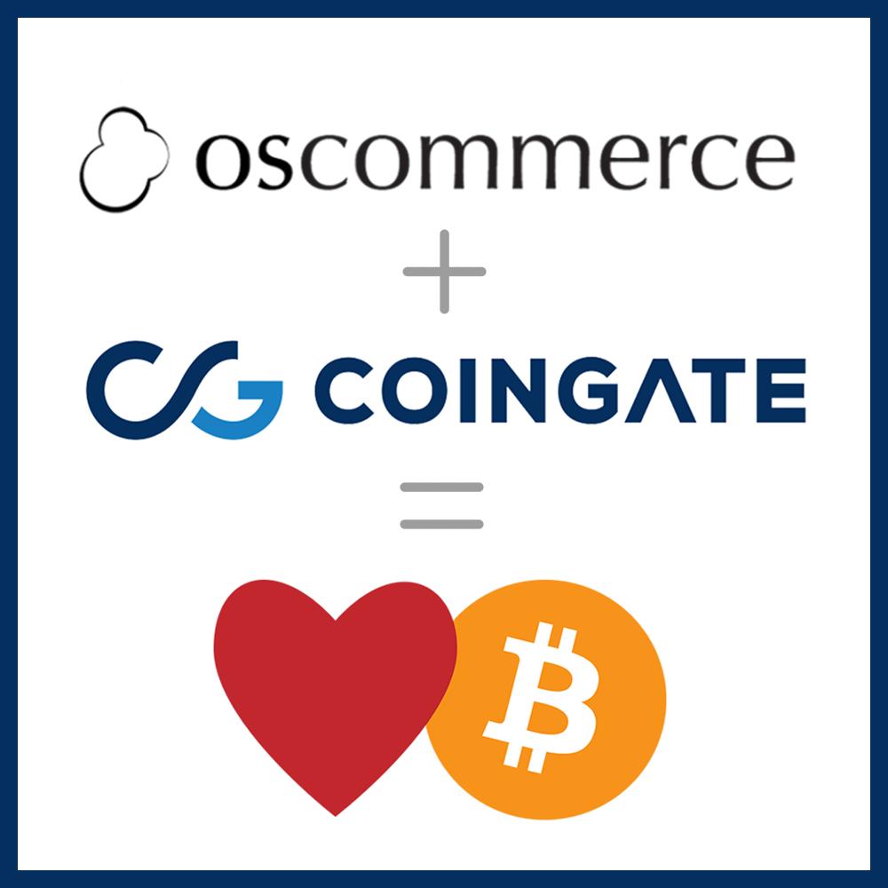 CoinGate osCommerce Bitcoin module installation