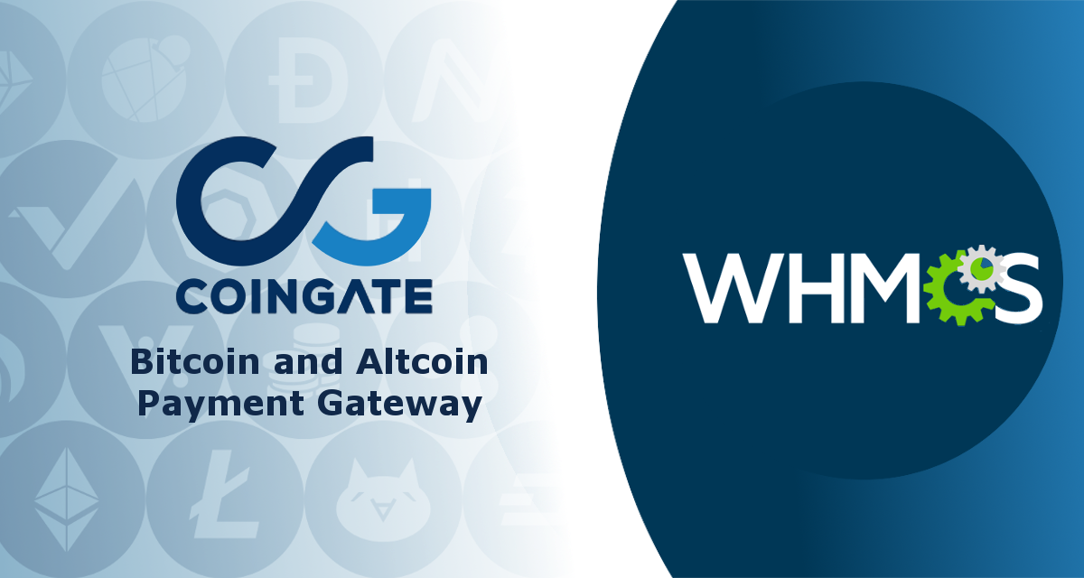 WHMCS Bitcoin and Altcoins payments via CoinGate