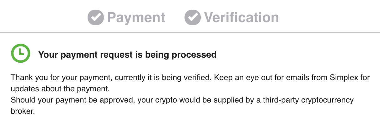 crypto credit card buy