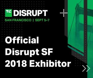 TechCrunch Disrupt Official Exhibitor