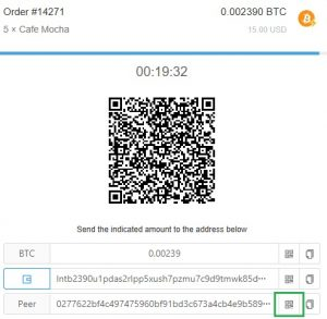 How to pay using the Lightning Network (Scan Peer QR)