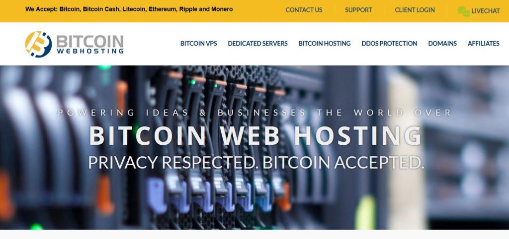 bitcoinwebhosting bitcoin