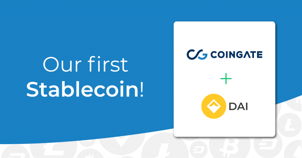 Dai stablecoin coingate