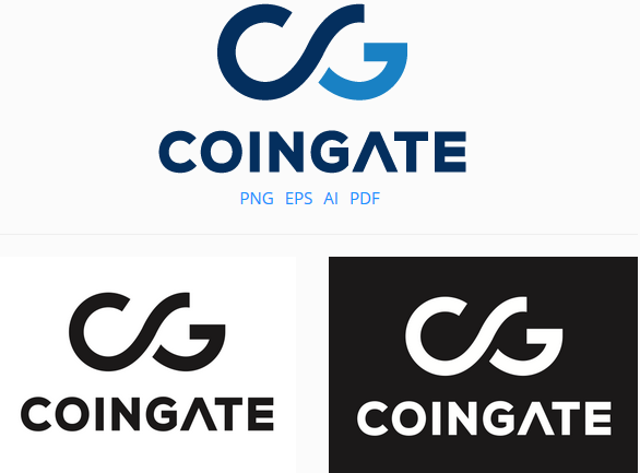 official coingate logotype