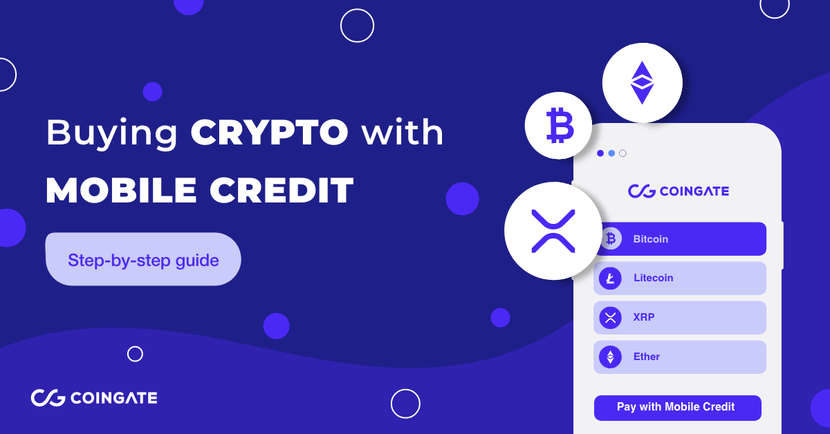 ultimate guide on how to buy crypto with mobile credit