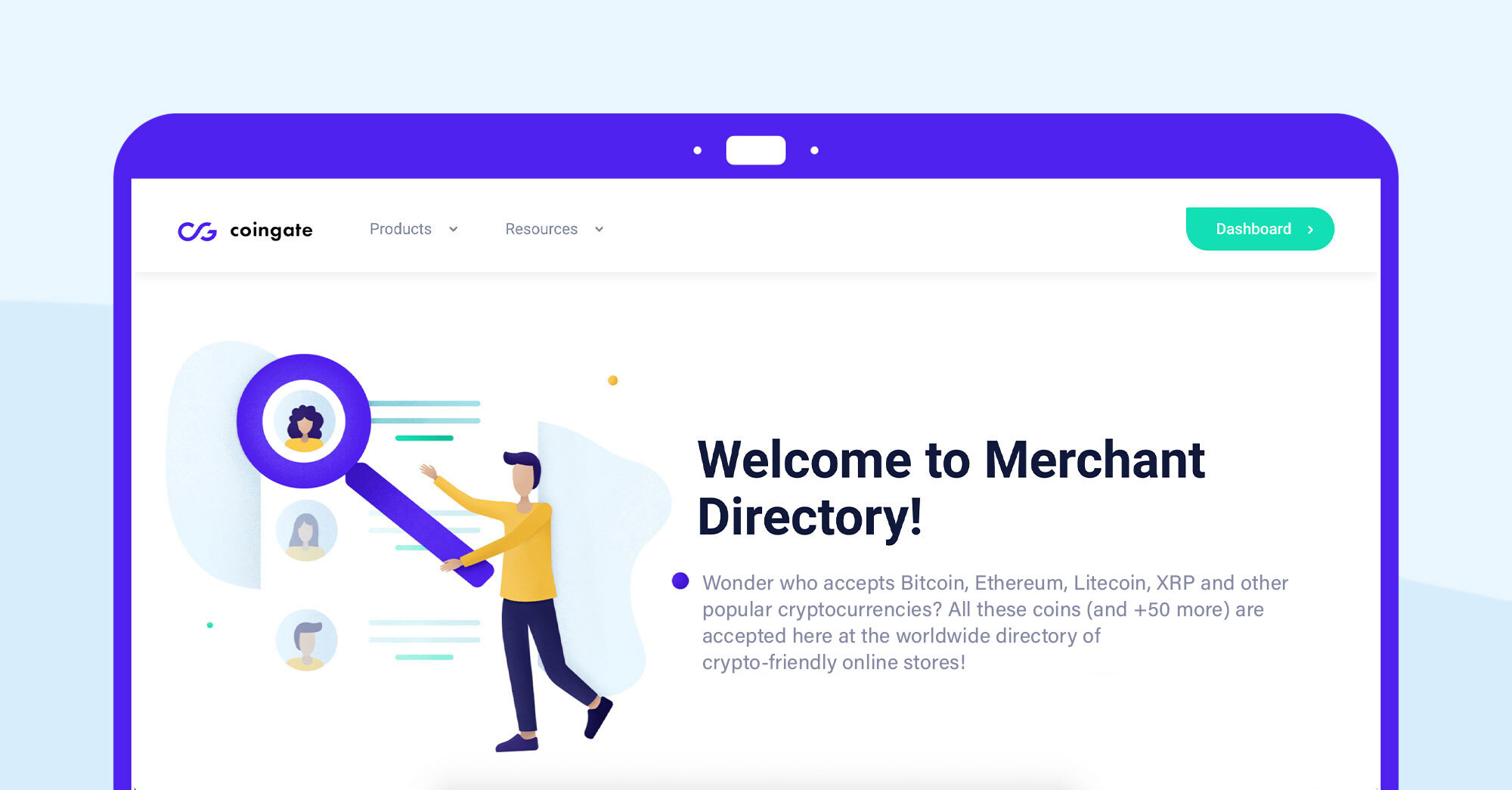 crypto directory page
