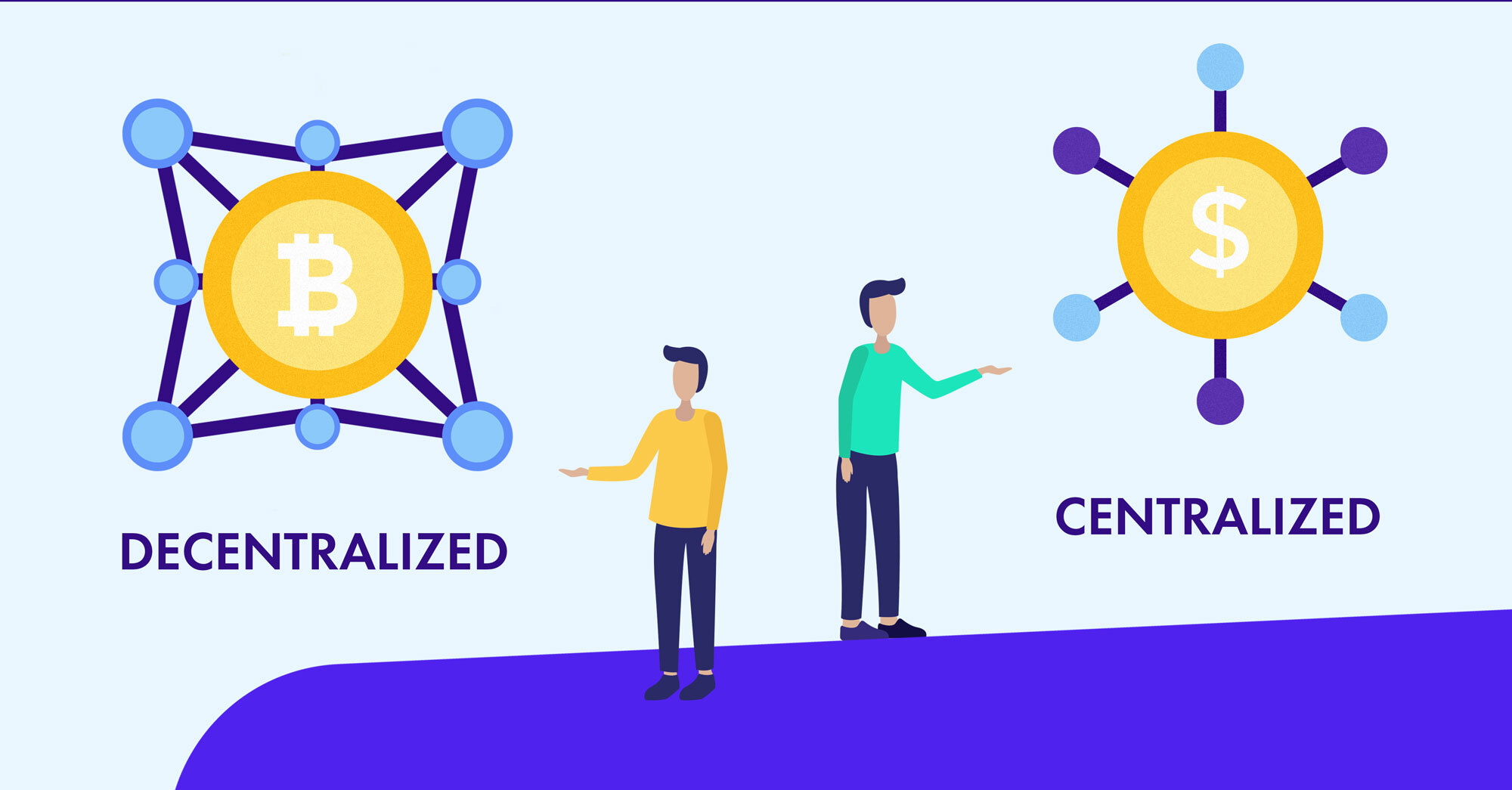 decentralized vs centralized