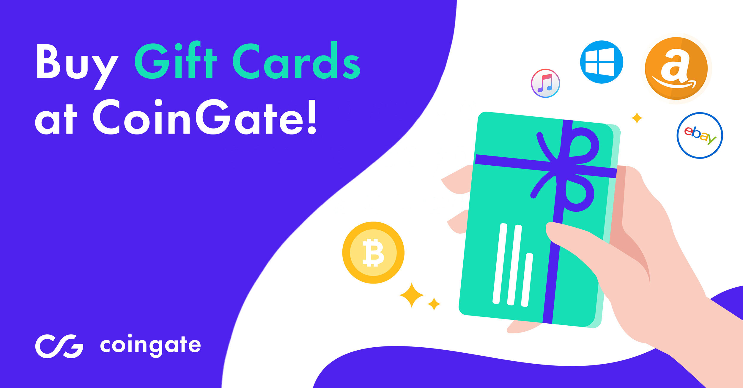 CoinGate gift cards