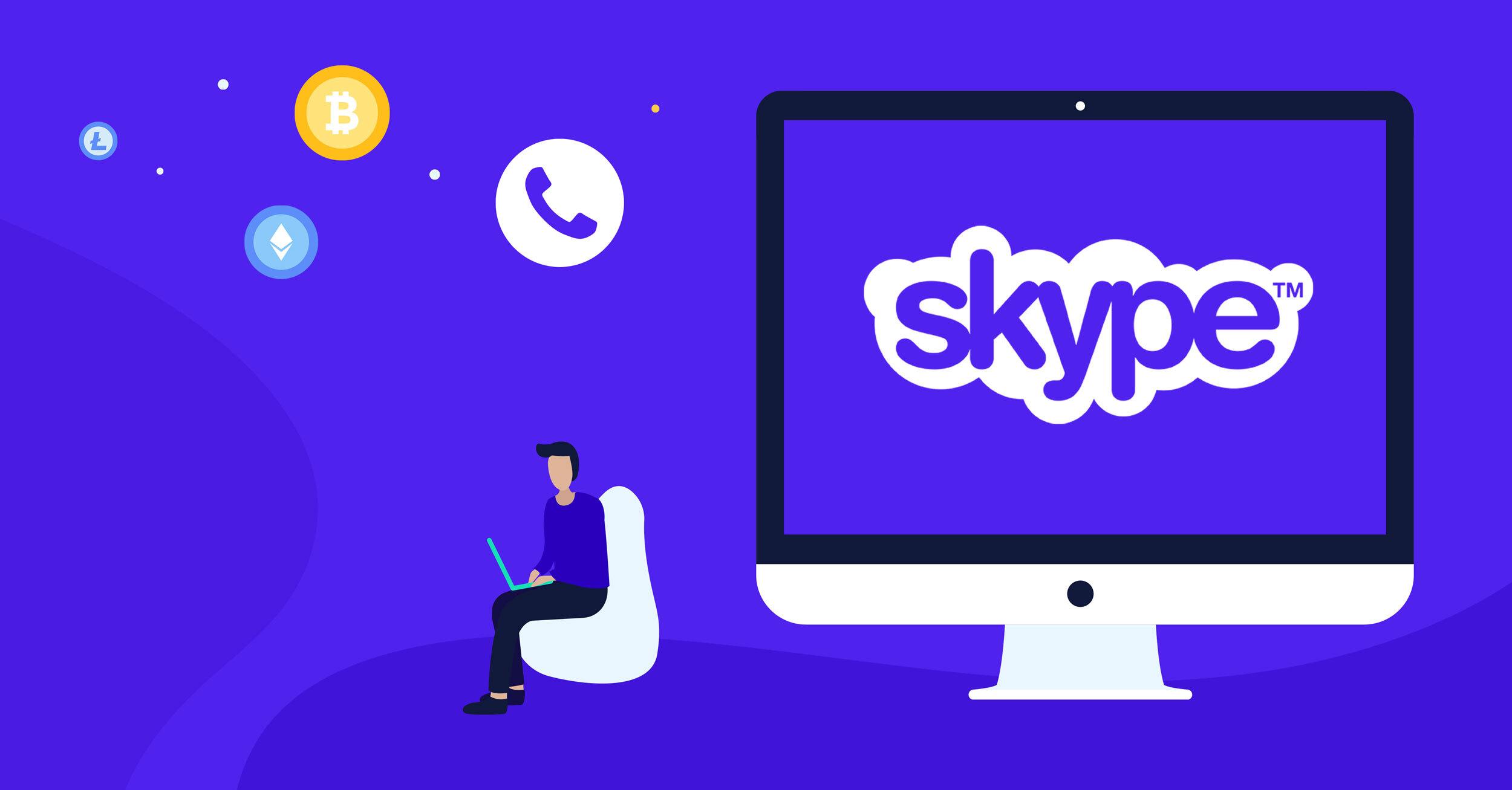 skype credits btc
