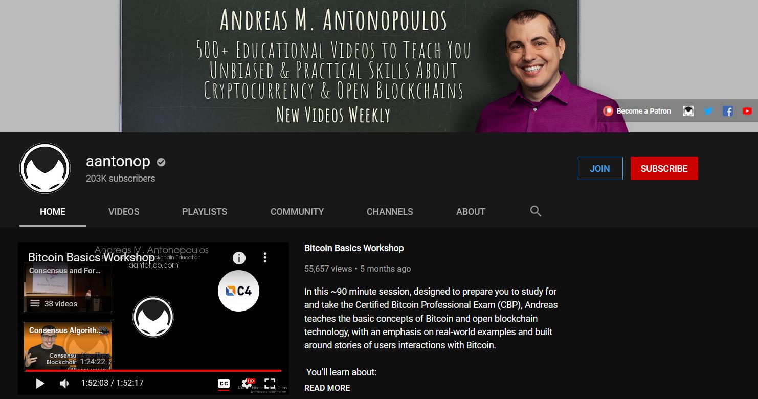 geriausias crypto youtube kanalas
