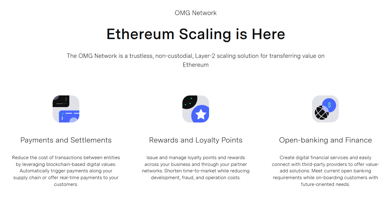ethereum network 2nd layer scaling option