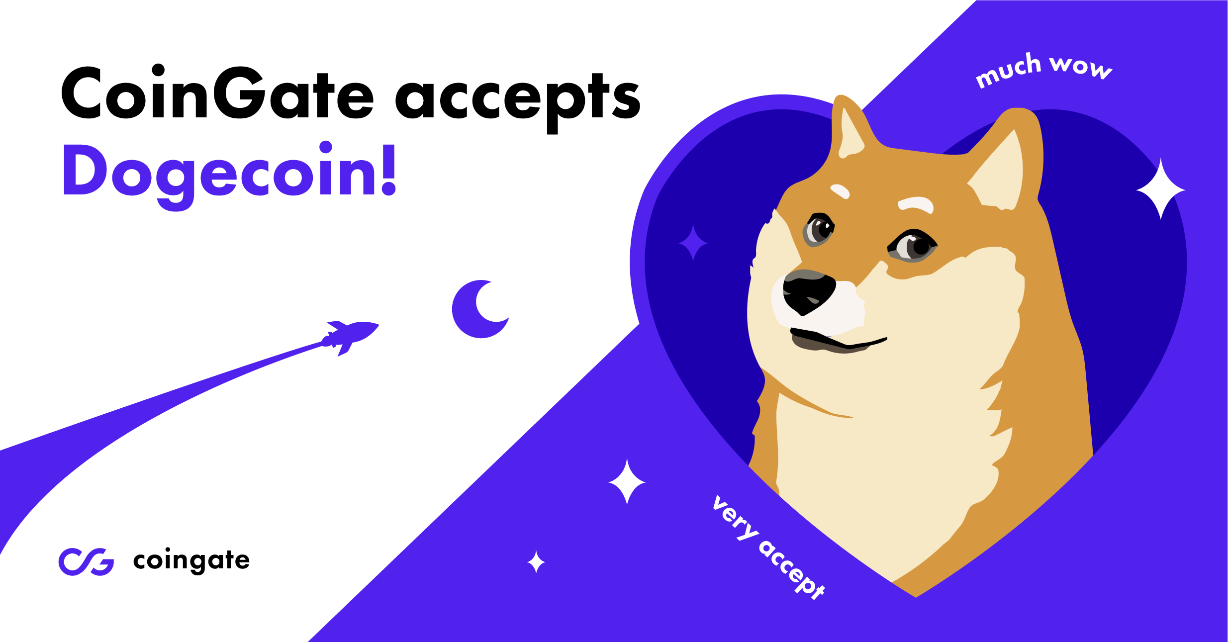 coingate accept doge very cool