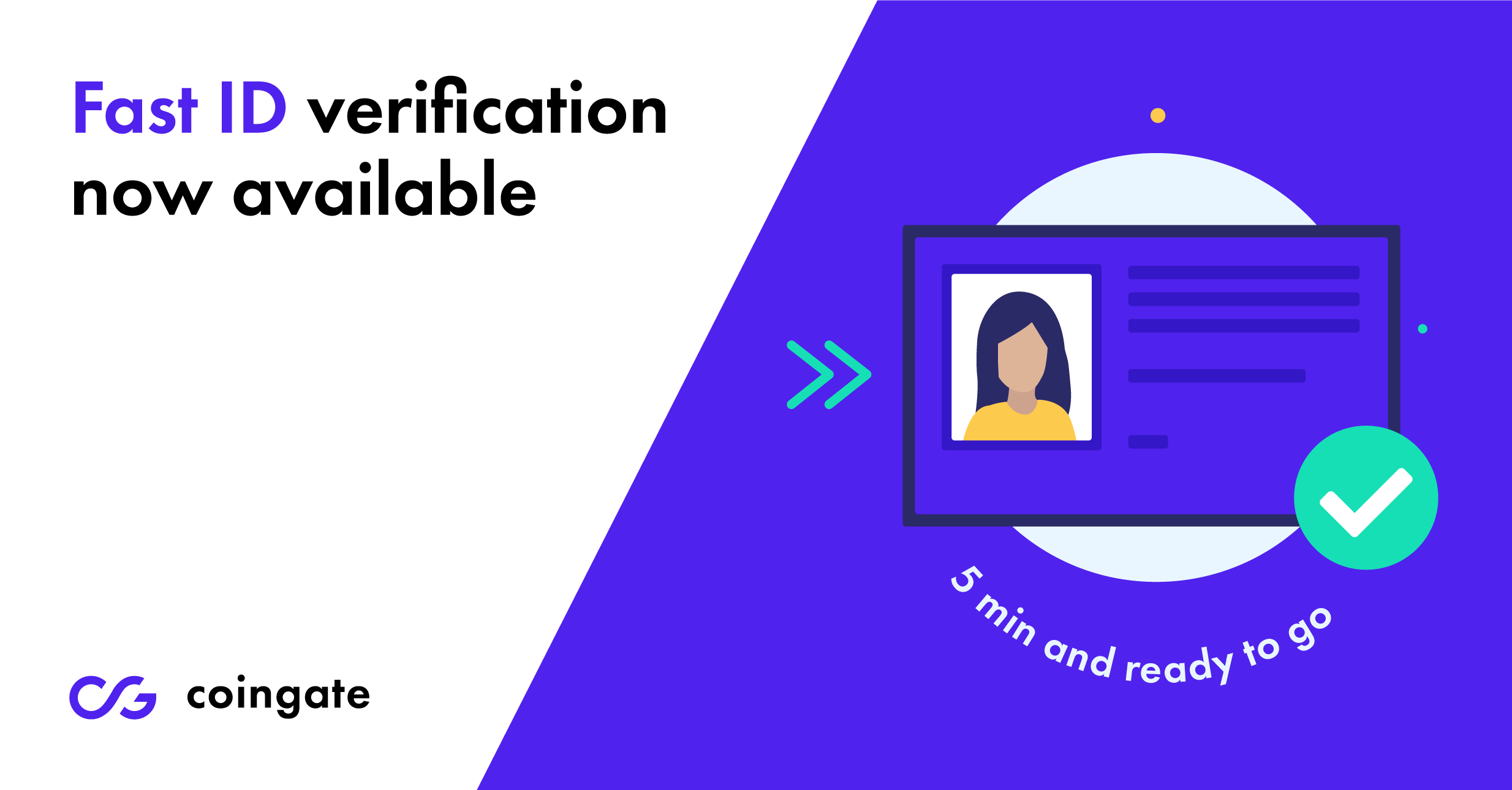 fast verification at coingate