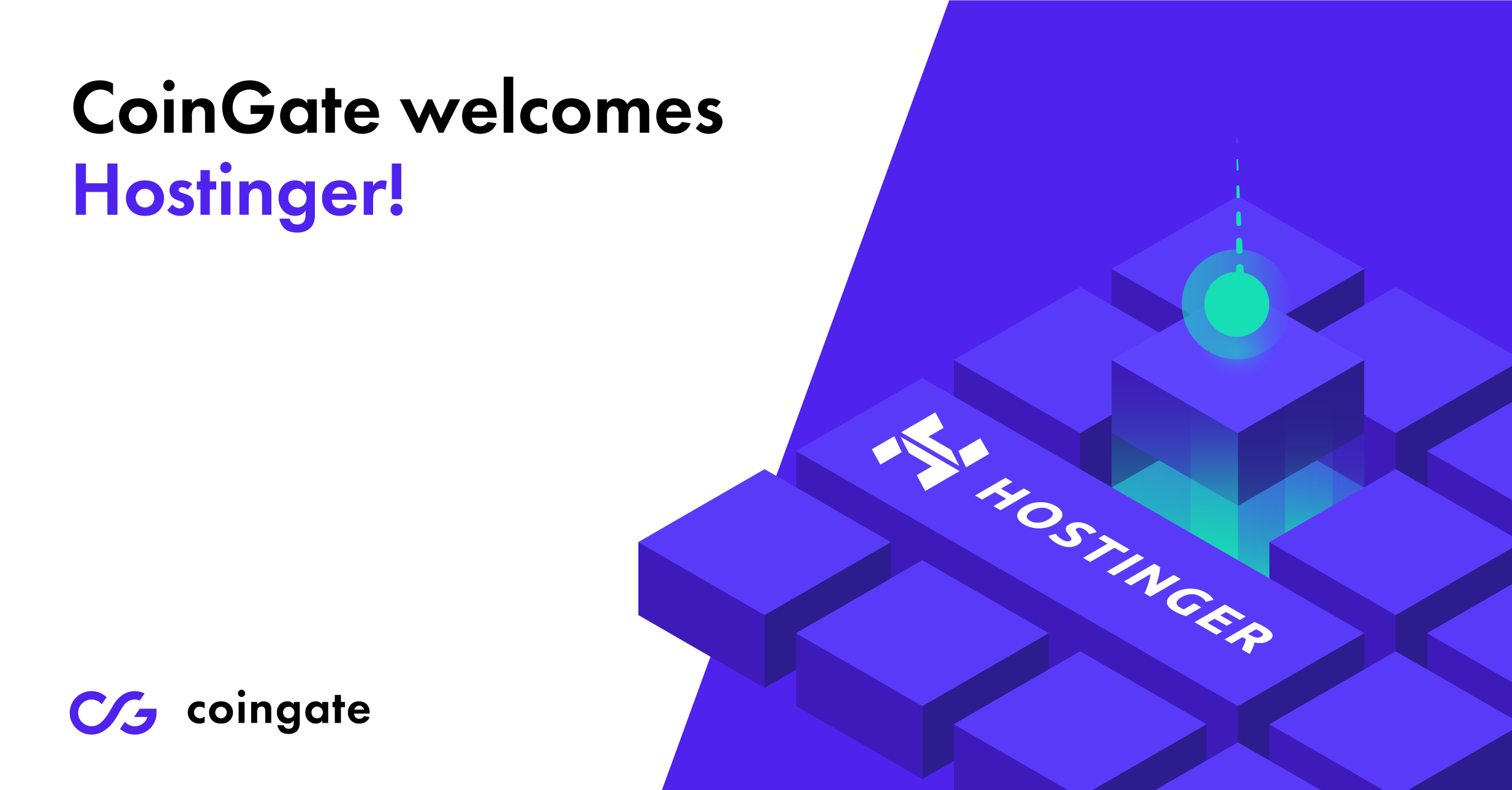 CoinGate welcomes Hostinger!