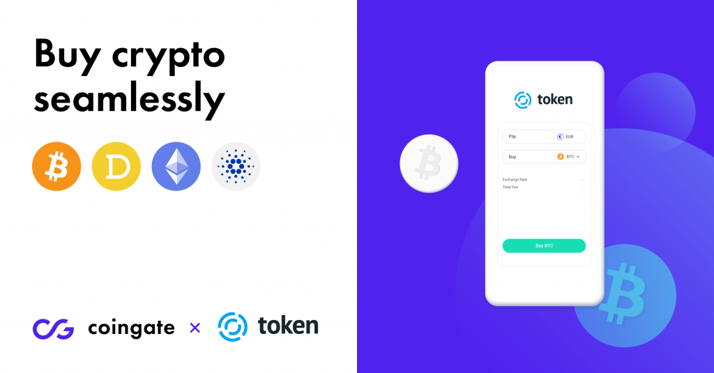 CoinGate has officially partnered up with Token.io